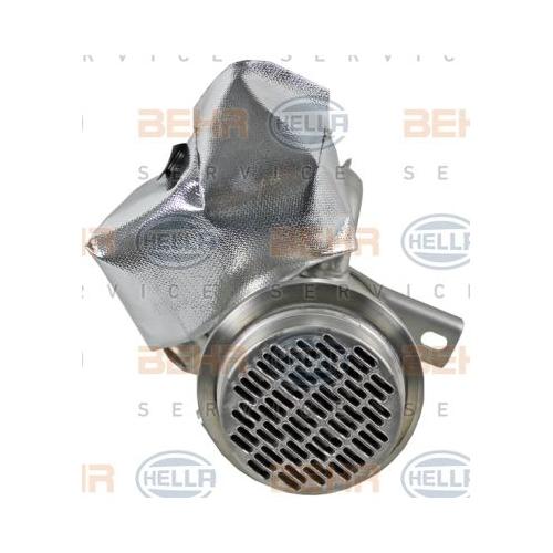 Cooler, exhaust gas recirculation HELLA 8ME 376 701-671 AUDI SEAT SKODA VW