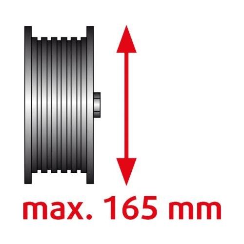 KS TOOLS Universal belt pulley puller 2 arm, Ø 40-165 150.3170