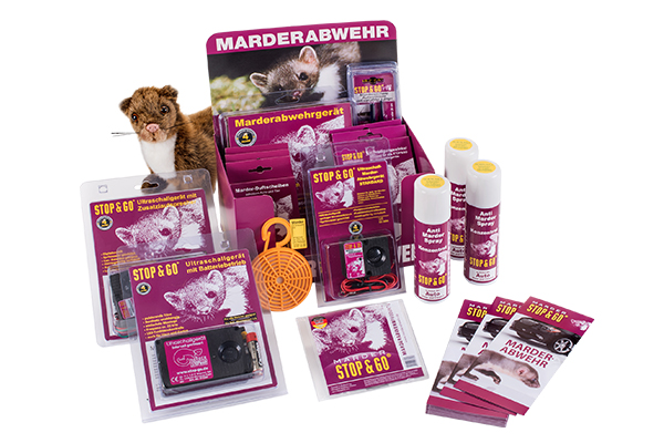 STOP&GO Marderschutz Starter-Set 07543