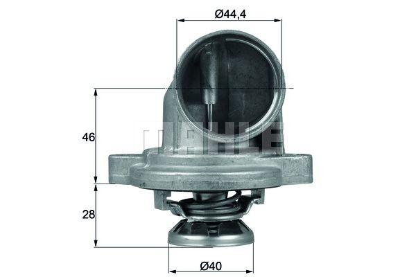 BEHR THERMOT-TRONIK Thermostat, coolant TI 23 80