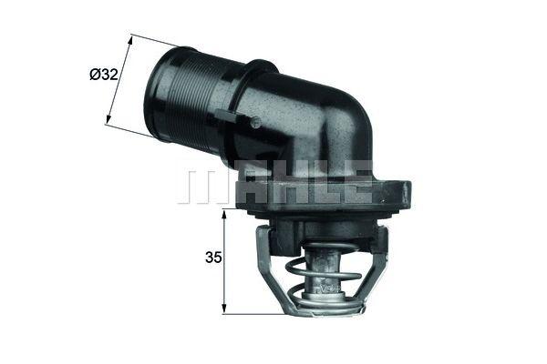 BEHR THERMOT-TRONIK Thermostat, coolant TI 181 89
