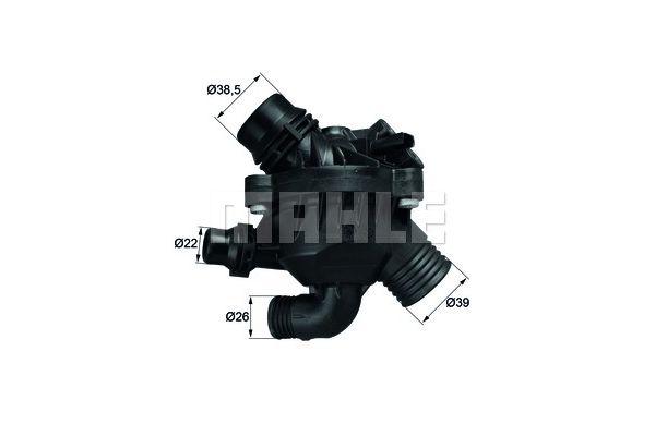 BEHR THERMOT-TRONIK Thermostat, coolant TM 30 97