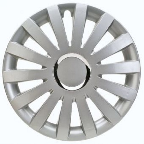 ALBRECHT Wheel cover wheel cap SAIL Plus 15 inch 1 piece silver premium design 49205