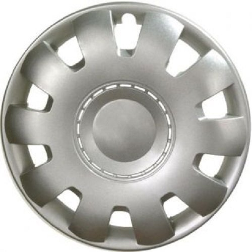 ALBRECHT Wheel cover hubcap VENUS NYLON LUX 15 inch 1 piece Silver Master Line 08975