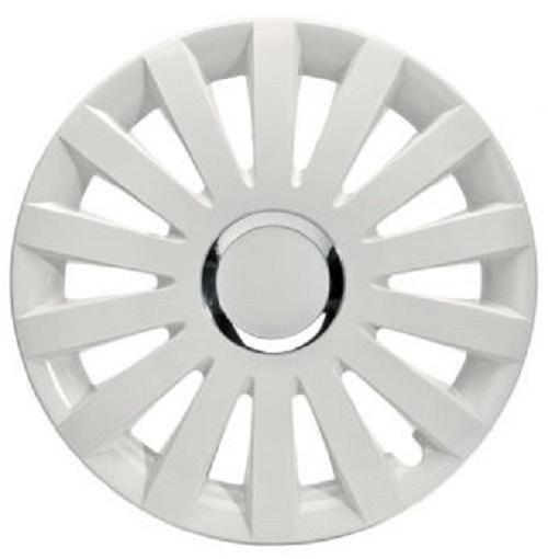 ALBRECHT Radzierblende Radkappe SAIL WHITE Plus 13 Zoll 1 Stück weiß Premium Design 49223