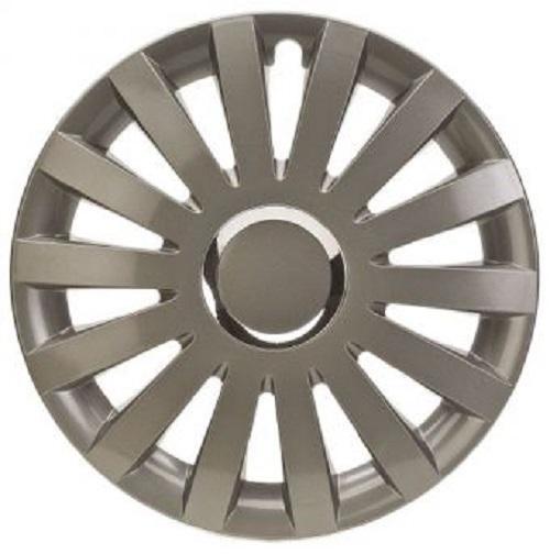 ALBRECHT Radzierblende Radkappe SAIL GREY Plus 13 Zoll 1 Stück anthrazit Premium Design 49003