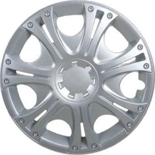 ALBRECHT Radzierblende Radkappe ARUBA 14 Zoll 1 Stück Silber Matt Premium Design 09064