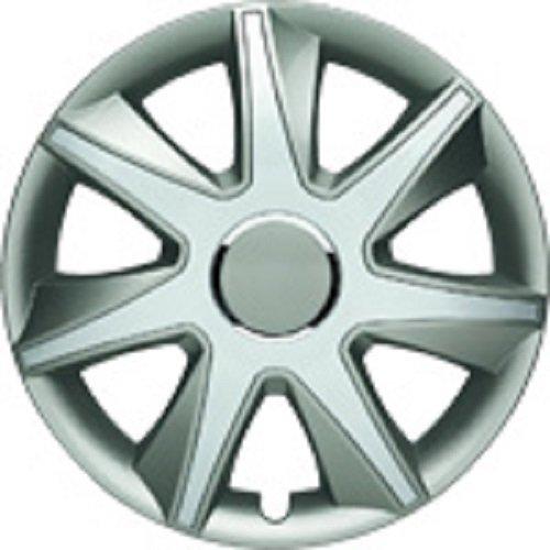 ALBRECHT Radzierblende Radkappe RUN I Plus 15 Zoll 1 Stück Silber/Grau 49455