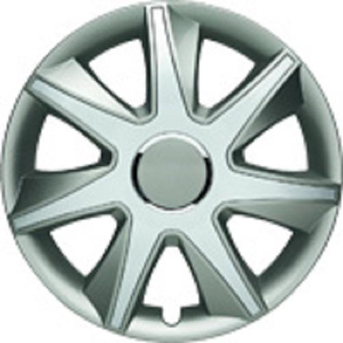 ALBRECHT Radzierblende Radkappe RUN I Plus 16 Zoll 1 Stück Silber/Grau 49456