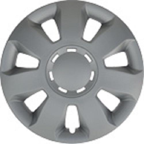 ALBRECHT Radzierblende Radkappe ARES 13 Zoll 1 Stück Silber 232231