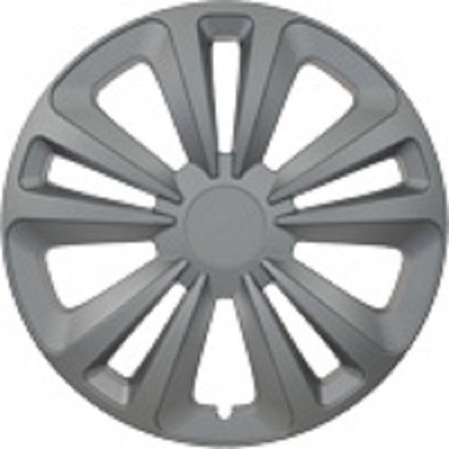 ALBRECHT Radzierblende Radkappe TERRA 16 Zoll 1 Stück Silber 262561