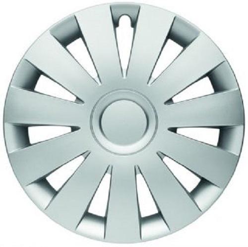 ALBRECHT Radzierblende Radkappe STRIKE 16 Zoll 1 Stück Silber Matt Premium Design 09006
