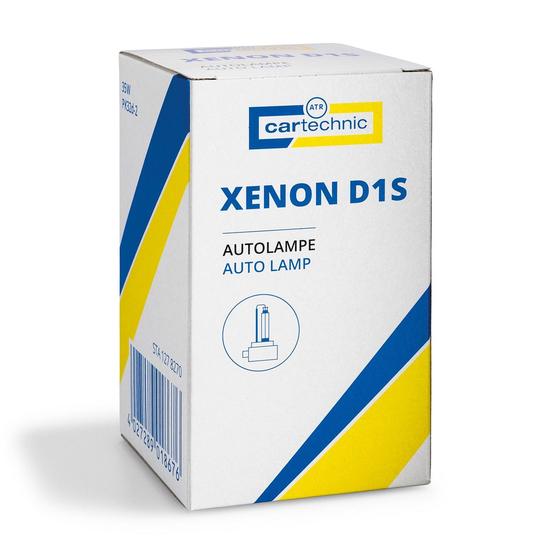 CARTECHNIC Gasentladungslampe D1S Xenon 85 Volt 35 Watt PK32d 40 27289 01867 6