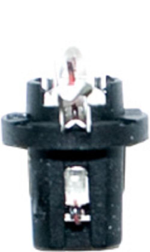 CARTECHNIC Kunstoffsockellampe schwarz 12 Volt 1,2 Watt B8,5d Höhe 23,5 40 27289 00379 5