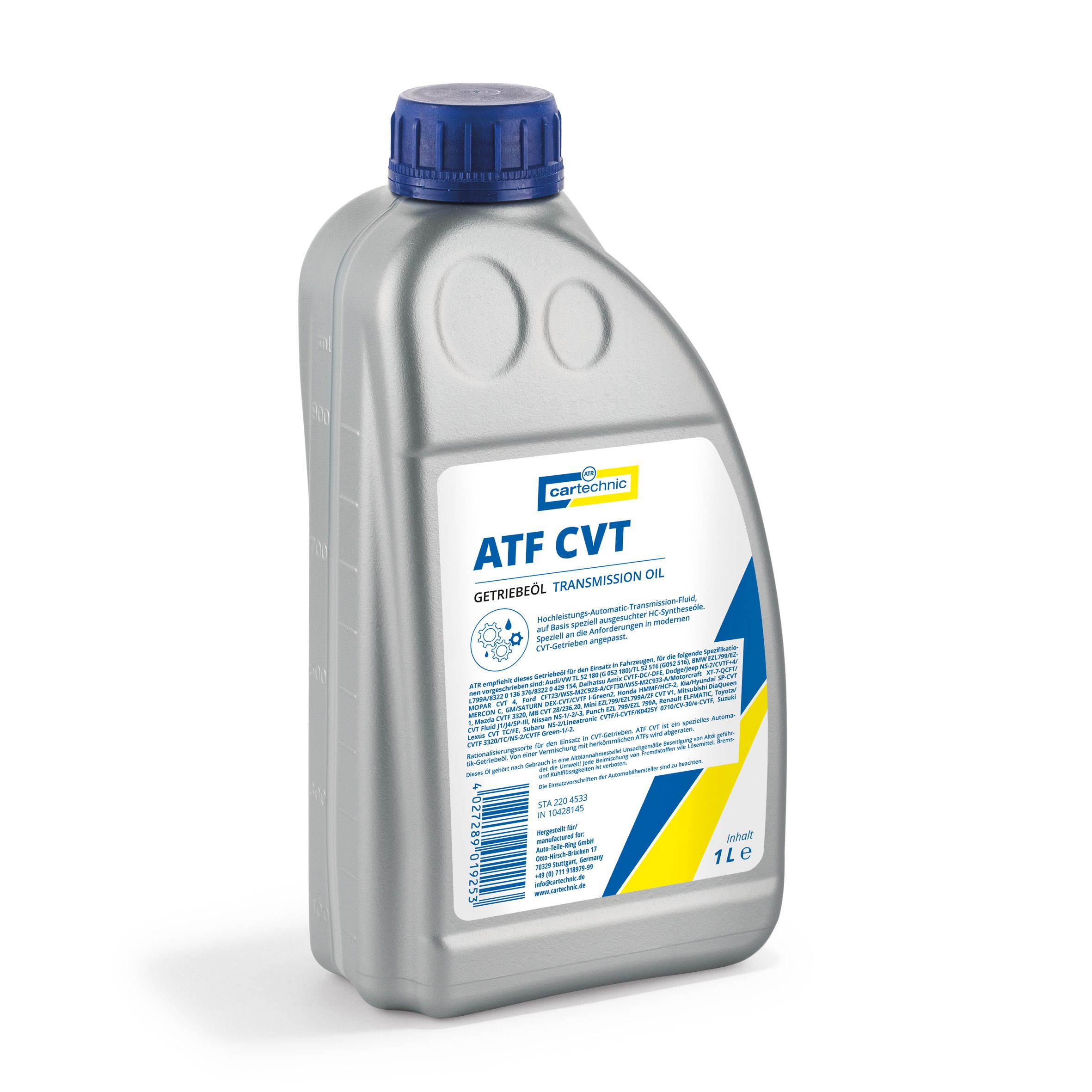 CARTECHRO Transmission oil ATF CVT 1 liter 25055-114-J2