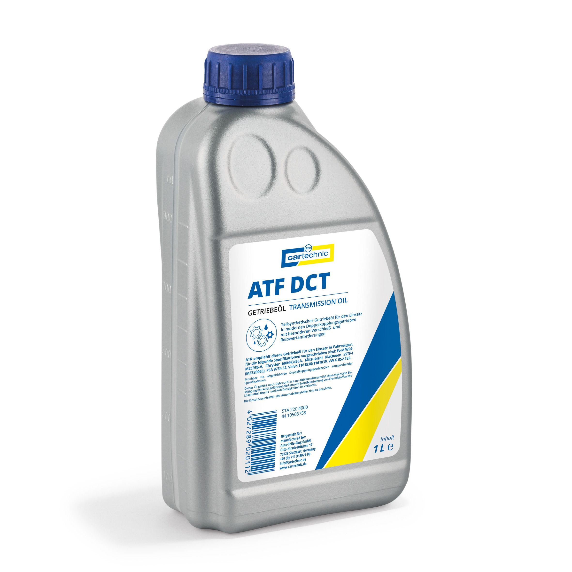 CARTECHRO Transmission oil ATF DCT 1 liter 25035-114-J2