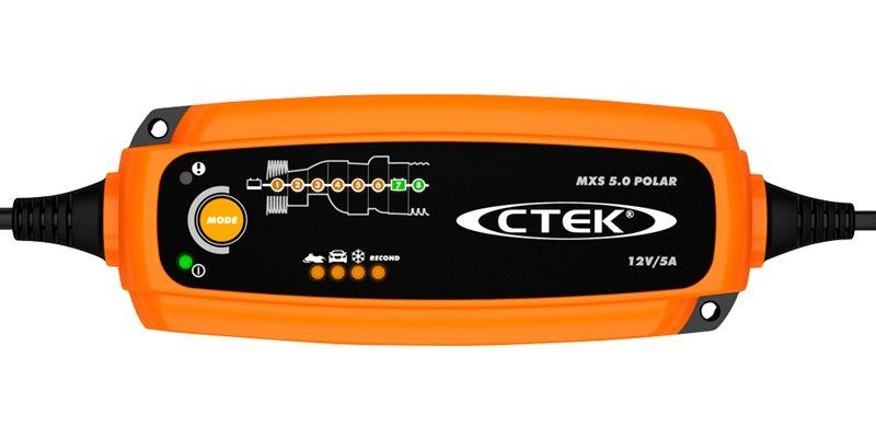 CTEK Batterieladegerät 12V 5A AUTO SCHNEEMOBIL LADEERAHLTUNGSGERÄT MXS 5.0 POLAR