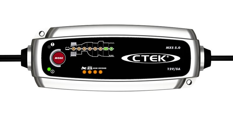 CTEK Batterieladegerät 12V 5A MXS 5.0 56-308