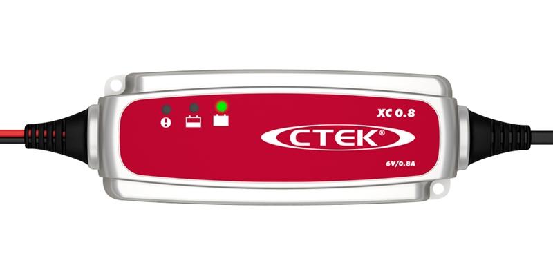 CTEK Batterieladegerät 56-729 6 Volt 0,8 A XC0.8 6V XC 0.8 6 VOLT