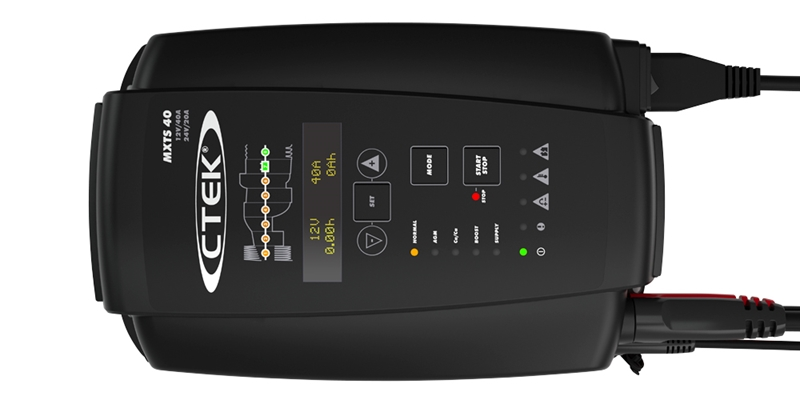 CTEK Batterieladegerät 40A-24V 20A Hochfrequenzladegerät MXTS 40