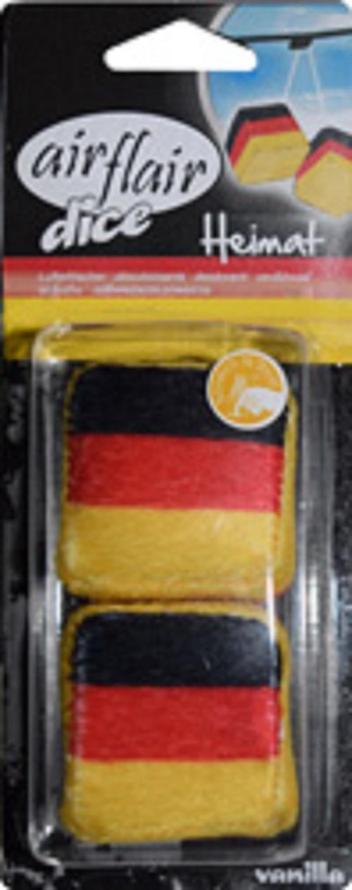 KAUFMANN ACCESSORIES Air Freshener Fragrance Tree Car Fragrance Germany Cube Vanilla Flavor AZLUF501