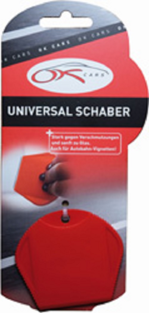 KAUFMANN ACCESSORIES Universal Schaber 3-Loch Industrieklinge Vignetten Entferner AZPMK760