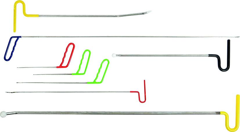 Beulenausdrücker-Stangensatz 8-teilig KUNZER (7BAS08)