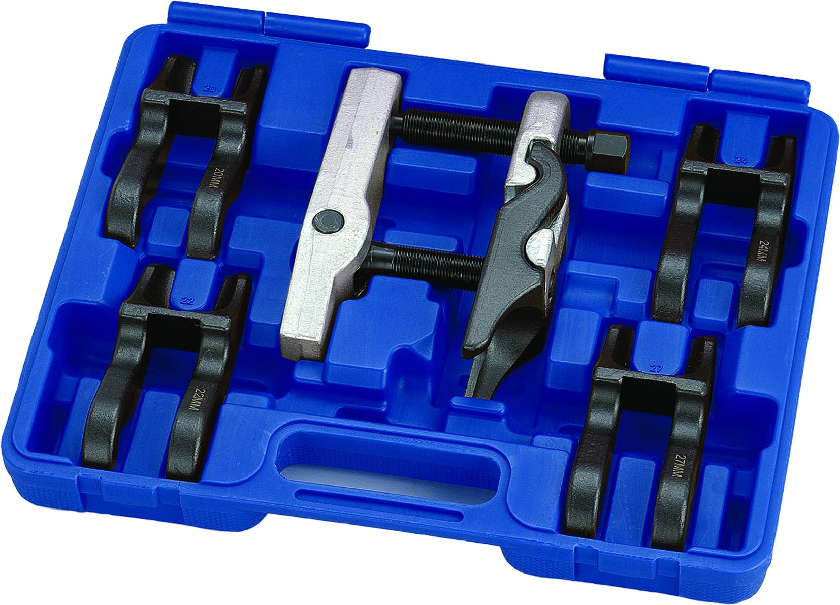 Ball pin-Ausdrückersatz 6-piece Adjustable + change jaws 20-22-24-27-30mm