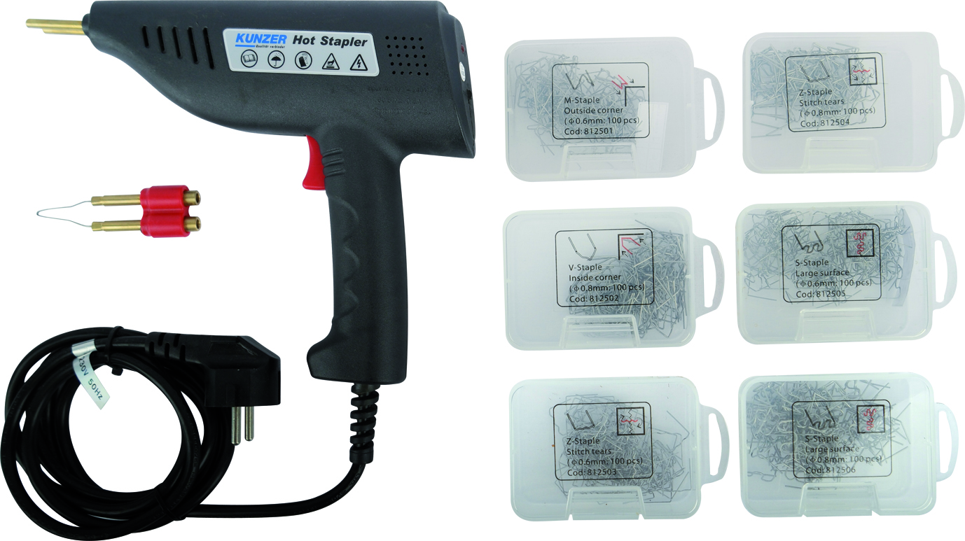 Plastic crack repair kit inchHot forklift KUNZER (7KRR01)