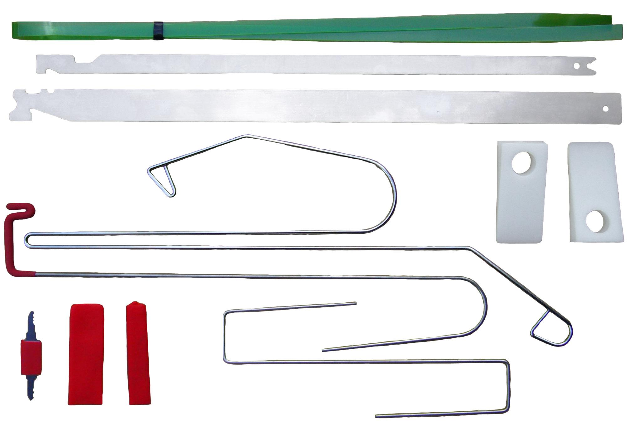 Universaltüröffnungs-Set, 9-teilig KUNZER (7OES12)