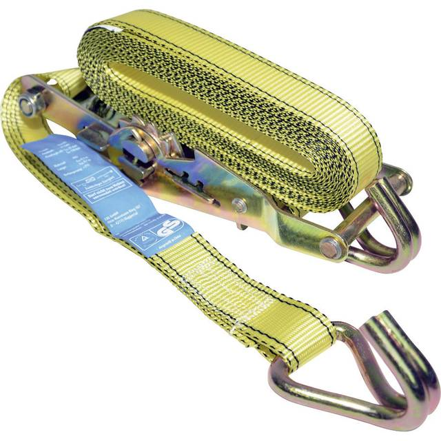 LAS 2-piece strap with ratchet and J-hoes 10333