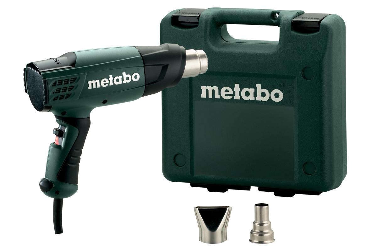 METABO Heißluftgebläse H 16-500 (601650500); Kunststoffkoffer 601650500