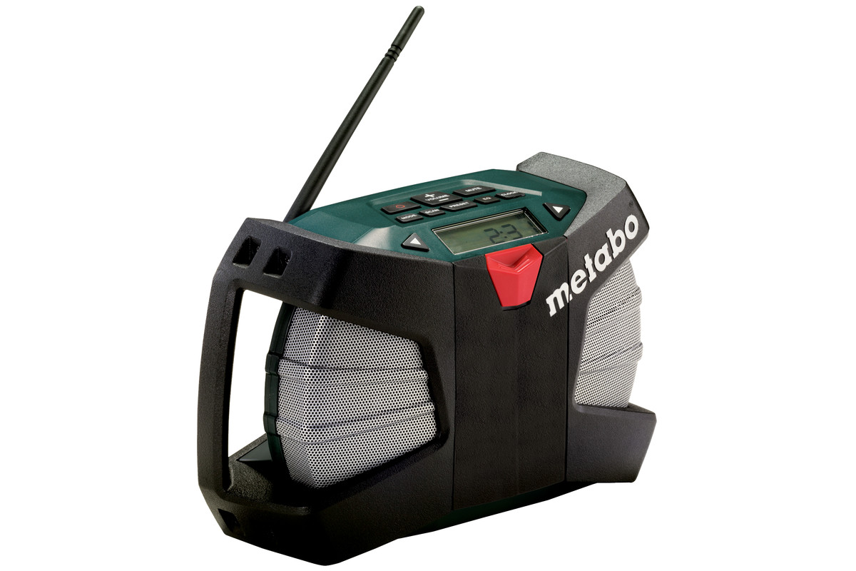 METABO Akku-Baustellenradio PowerMaxx RC (602113000) im Karton 602113000
