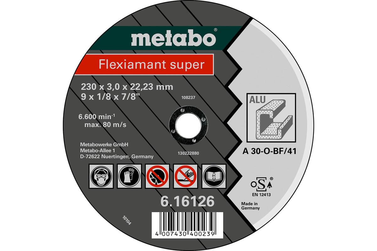 METABO Flexiamant super 115x2,5x22,23 Alu, Trennscheibe, gekröpft (616751000) 616751000