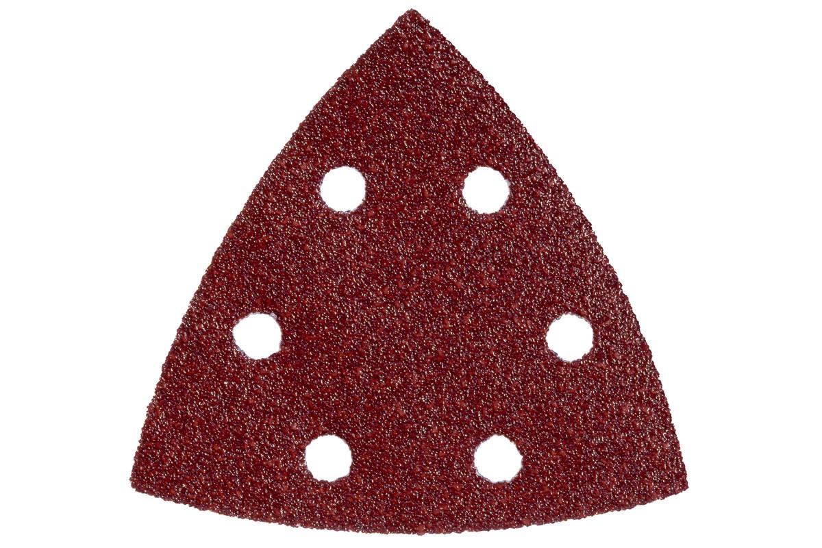 METABO 25 Haftschleifblätter 93x93 mm, P 60 für Holz und Metall (624981000) 624981000