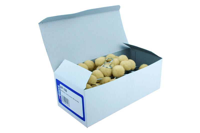 PROGLASS Applicators, not linting, 105 mm long 100 pieces in cardboard box AP-100