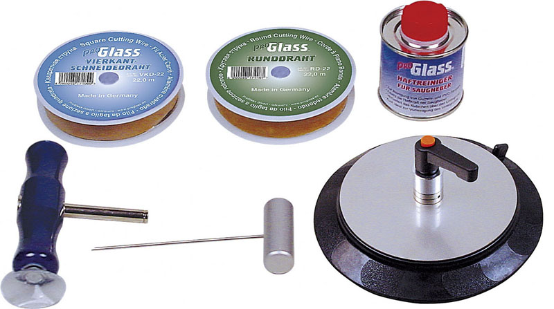 PROGLASS ProGlass one-man wire cutting set EDS EDS-150