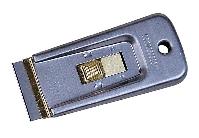 PROGLASS Glasschaber mit einziehbarer Klinge für 40 mm breite Klingen GS-120