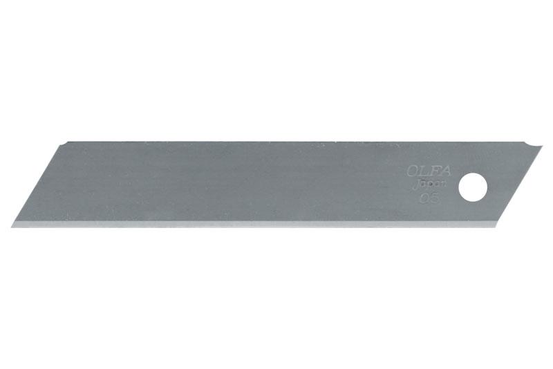 PROGLASS Olfa® Klingen, 18 mm breit, nicht segmentiert Packung zu 10 Stück LSOL-10