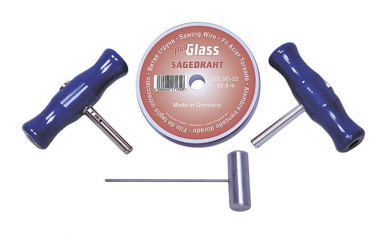 PROGLASS ProGlass Wire Cutting Kit SDK with saw wire, 4-piece SDK-202