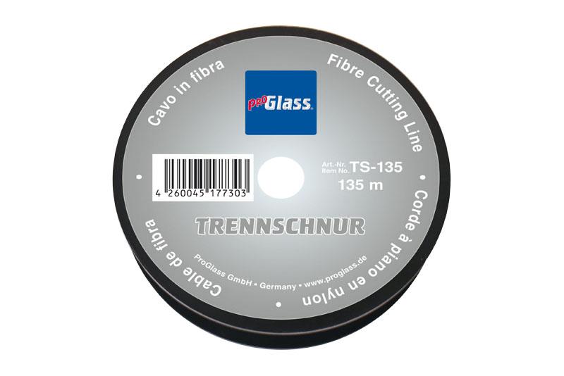 PROGLASS ProGlass separating cord TS, Ø 0.5 mm, 135 m on plastic spool TS-135
