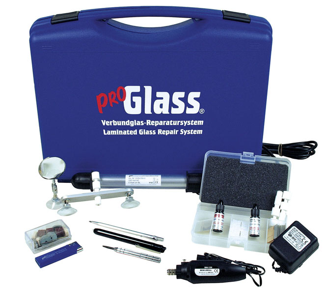 PROGLASS ProGlass Verbundglas-Reparatursystem für den stationären Einsatz WSR-100