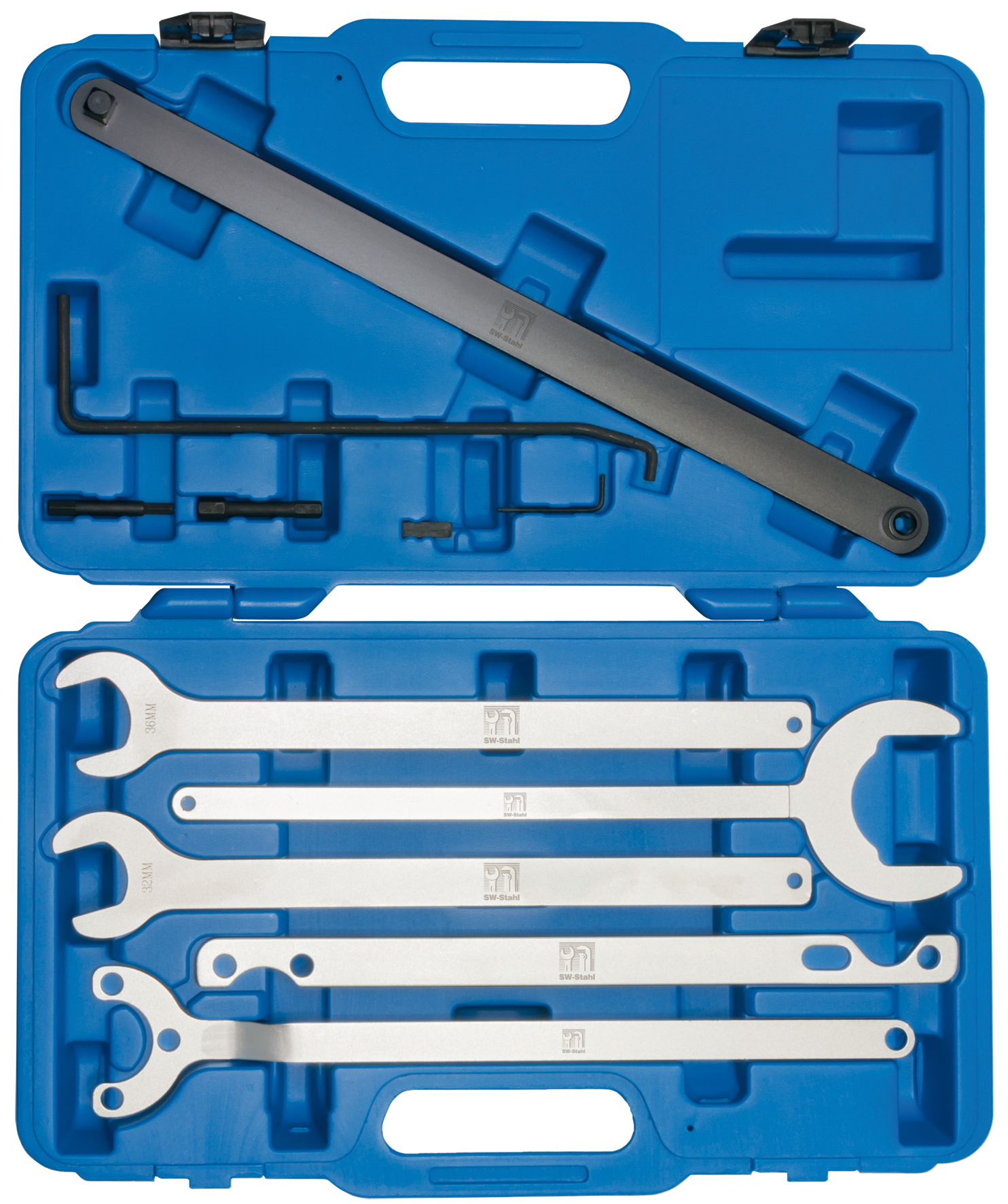 SWSTAHL Fan hub spanner set 00125L
