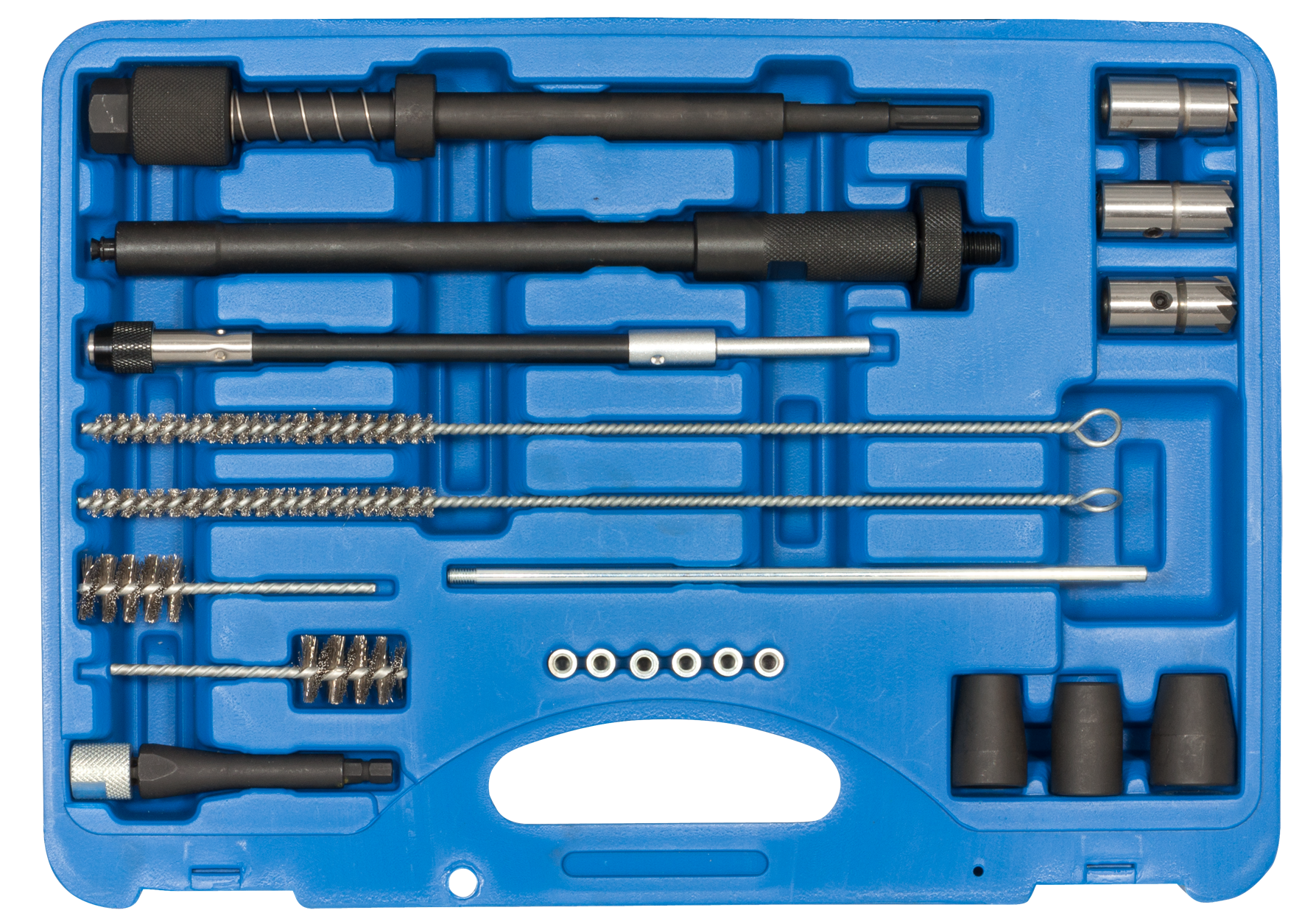 SWSTAHL Cleaning set for injector seat and shaft 03689L