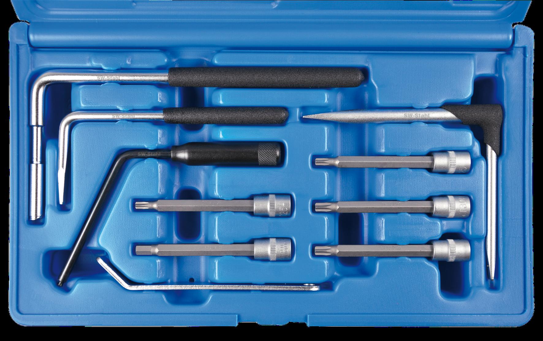 SWSTAHL Airbag-Werkzeugsatz, 10-teilig 04403L