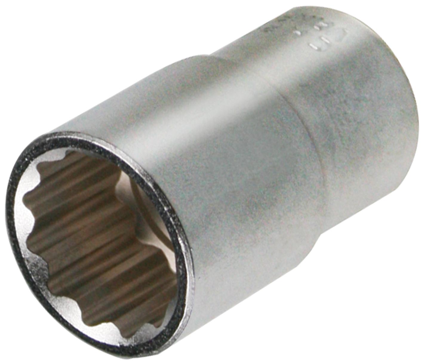 SWSTAHL Steckschlüsseleinsatz, 1/2 Zoll, Zwölfkant, 30 mm 05640-30SB