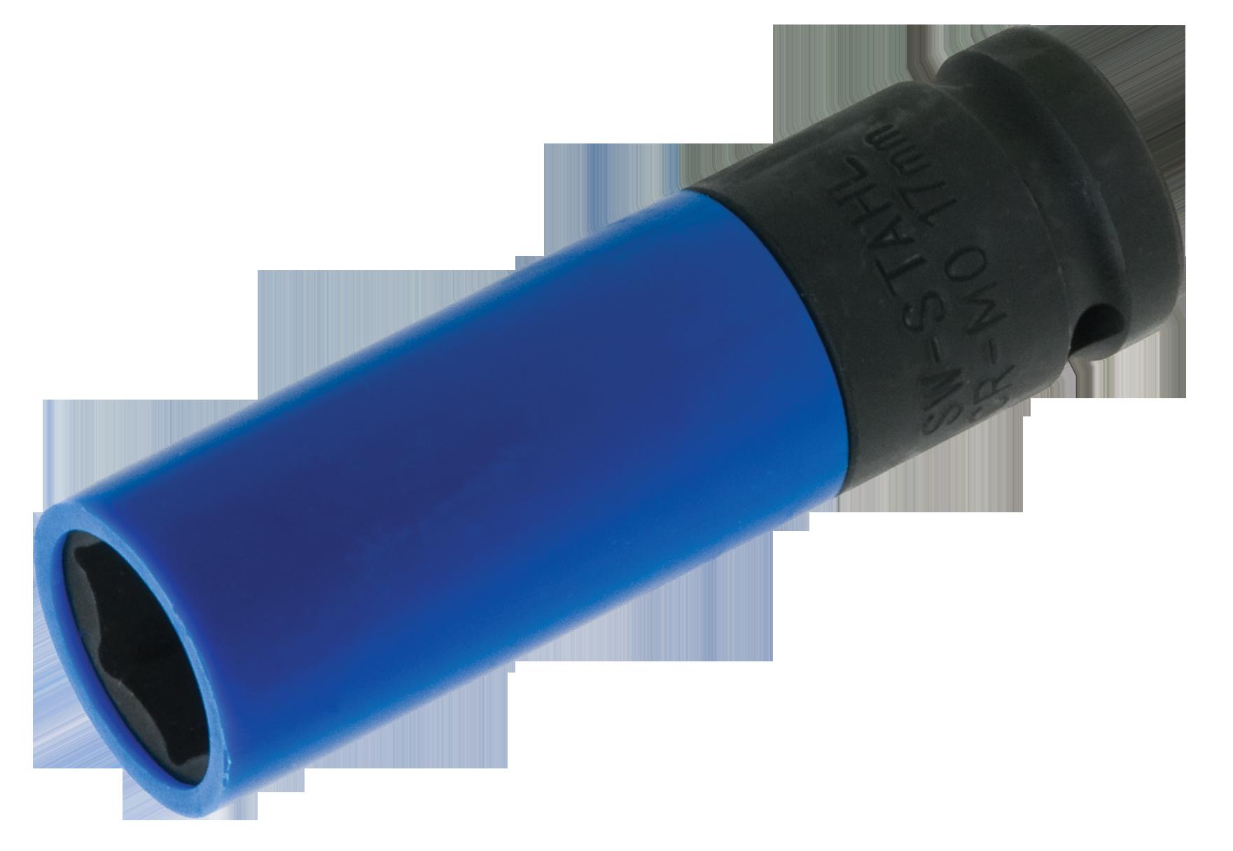 SWSTAHL Radmutterneinsatz, 1/2 Zoll, 17 mm 07871L