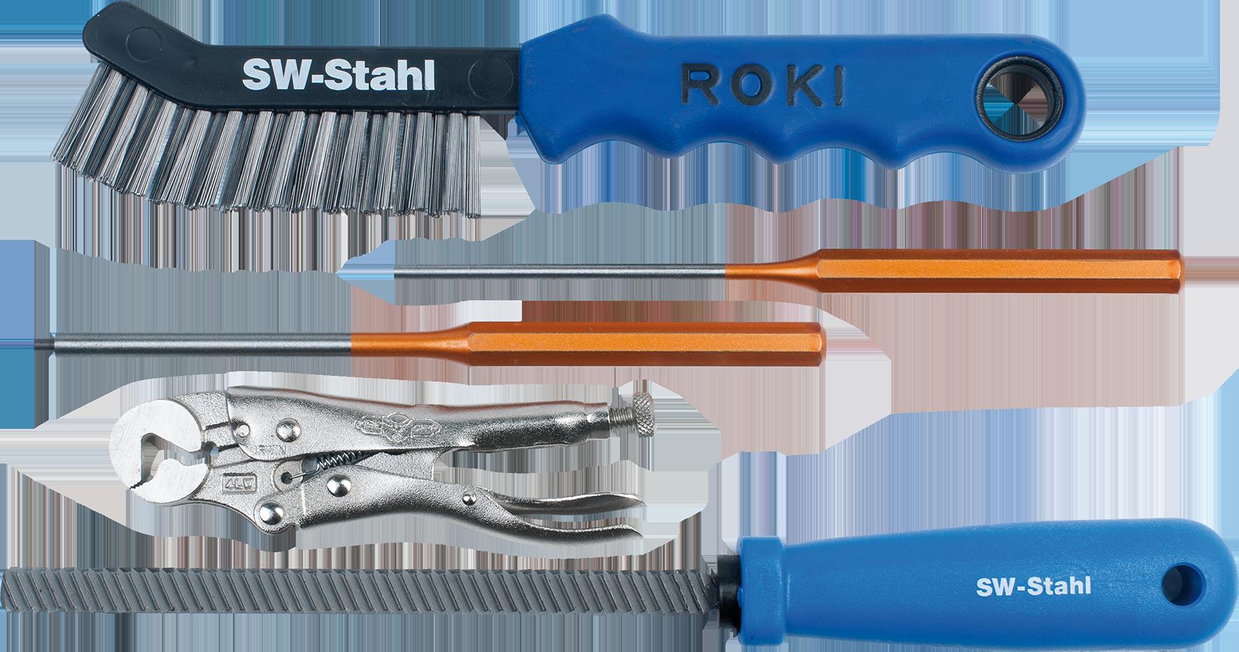 SWSTAHL Bremsen-Werkzeugsatz, 5-teilig 09050SB