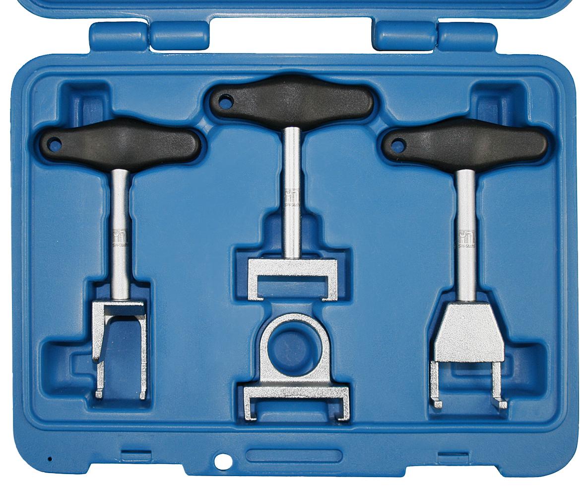 SWSTAHL Spark plug removal set, 4-piece 10645L