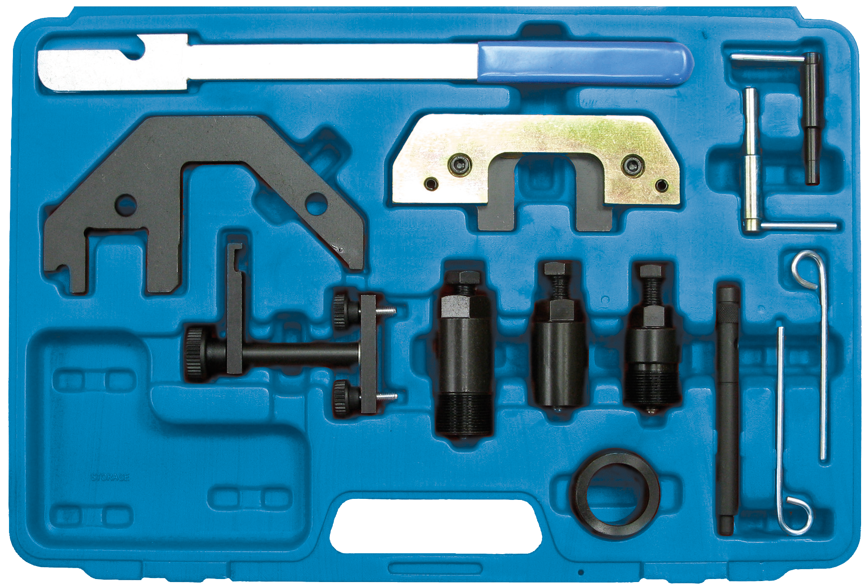 SWSTAHL Engine adjustment tool set BMW diesel engines 26104L